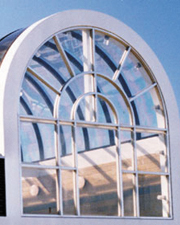 Arched Glass Roof