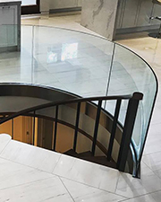 Curved Glass Guard