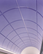 Curved Ceiling Grid