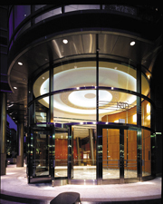 Circular Stainless Steel Entrance